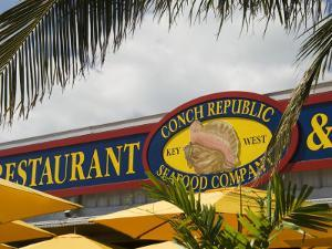 Conch Republic Restaurant Beside the Marina, Key West, Florida, USA by R H Productions