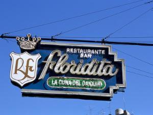 Floridita Restaurant and Bar Where Hemingway Drank Daiquiris, Havana, Cuba, West Indies by R H Productions