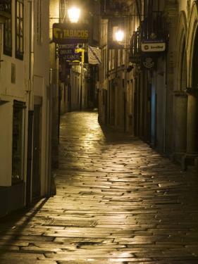 Night Scene, Santiago De Compostela, Galicia, Spain by R H Productions