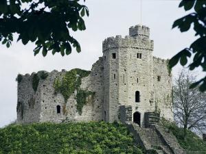 Norman Keep, Cardiff Castle, Cardiff, Glamorgan, Wales, United Kingdom by R H Productions