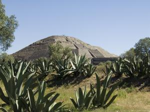 Pyramid of the Moon, Teotihuacan, 150Ad to 600Ad and Later Used by the Aztecs, North of Mexico City by R H Productions
