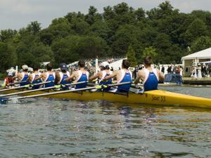 Rowing at the Henley Royal Regatta, Henley on Thames, England, United Kingdom by R H Productions