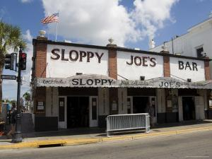 Sloppy Joe's Bar, Famous Because Ernest Hemingway Drank There, Duval Street, Florida by R H Productions