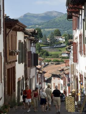 St. Jean Pied De Port, Basque Country, Pyrenees-Atlantiques, Aquitaine, France by R H Productions