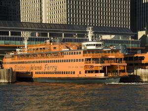 Staten Island Ferry, Business District, Lower Manhattan, New York City, New York, USA by R H Productions