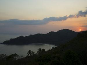 Sunset Over Punta Islita, Nicoya Pennisula, Costa Rica, Central America by R H Productions