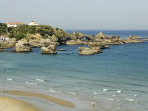 The Beach, Biarritz, Basque Country, Pyrenees-Atlantiques, Aquitaine, France by R H Productions