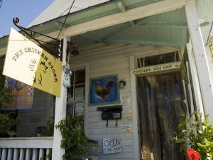The Chicken Store with Chickens Inside and Out, Duval Street, Key West, Florida, USA by R H Productions