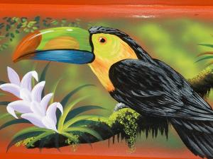 The Crafts Town of Sarchi Famous for Its Decorative Painting and Ox Carts, Costa Rica by R H Productions