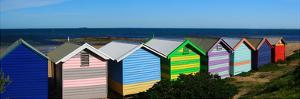 Colorful Bathing Boxes by R. Mackenzie