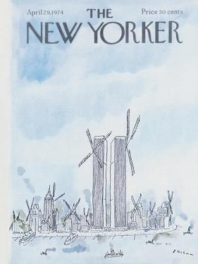 The New Yorker Cover - April 29, 1974 by R.O. Blechman
