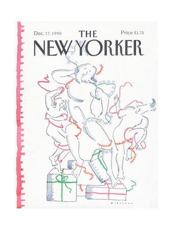 The New Yorker Cover - December 17, 1990