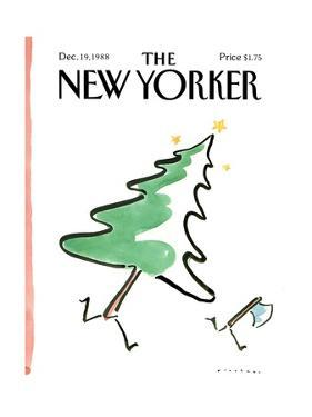 The New Yorker Cover - December 19, 1988 by R.O. Blechman