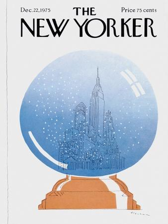 The New Yorker Cover - December 22, 1975