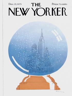 The New Yorker Cover - December 22, 1975 by R.O. Blechman