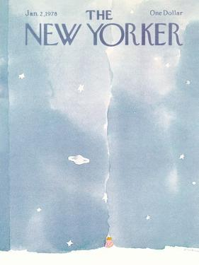 The New Yorker Cover - January 2, 1978 by R.O. Blechman