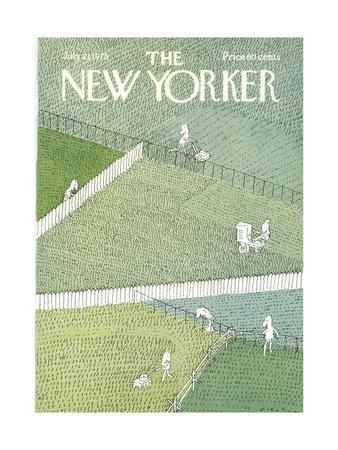 The New Yorker Cover - July 21, 1975