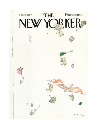 The New Yorker Cover - March 7, 1977