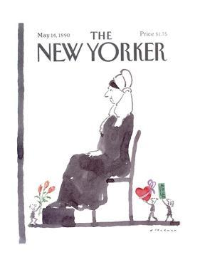 The New Yorker Cover - May 14, 1990 by R.O. Blechman