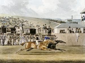 Derby Day at Epsom by R. Reeves