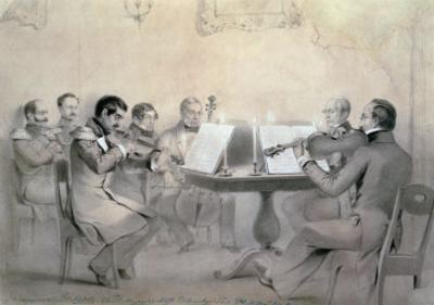 Quartet of the Composer Count A. F. Lvov, 1840