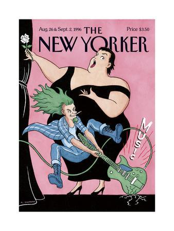 The New Yorker Cover - August 26, 1996