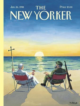 The New Yorker Cover - January 26, 1998