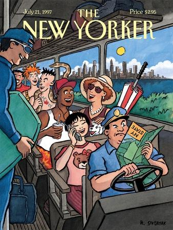 The New Yorker Cover - July 21, 1997