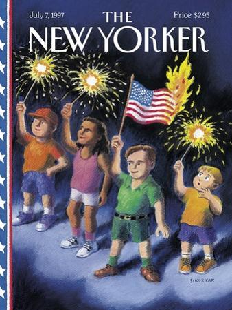 The New Yorker Cover - July 7, 1997 by R. Sikoryak