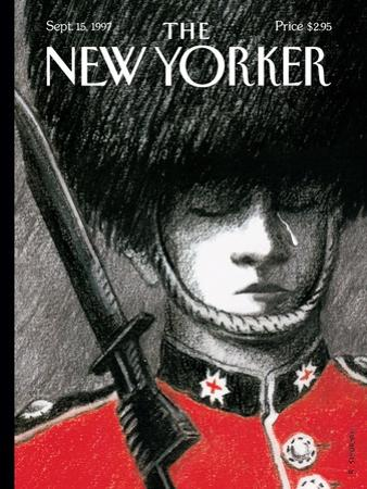 The New Yorker Cover - September 15, 1997 by R. Sikoryak