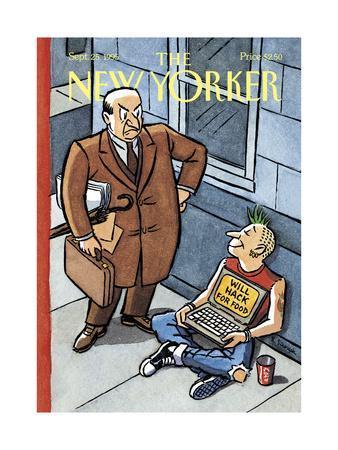 The New Yorker Cover - September 25, 1995