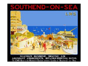 Southend-on-Sea by R T Roussel