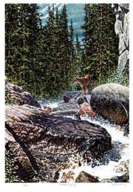 Montana Spring by R. V. Stanley