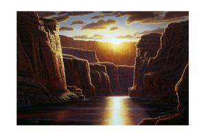 Grand Sunrise by R.W. Hedge