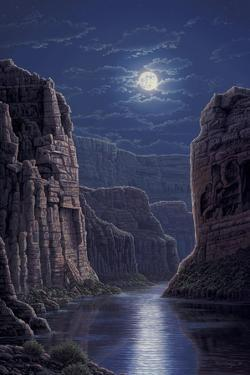 Moonlit Pass by R.W. Hedge