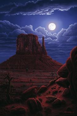 Navaho Moon by R.W. Hedge