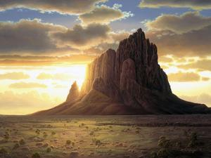 Shiprock by R.W. Hedge