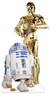 R2-D2 & C-3P0