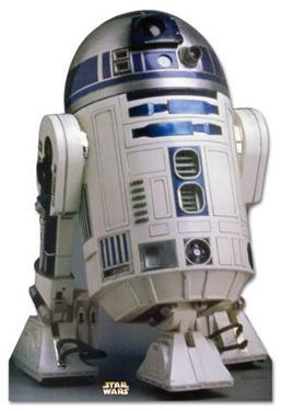 R2-D2 Cardboard Cutout