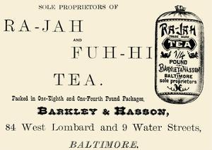 Ra-Jah and Fuh-hi Tea