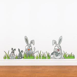 Rabbits Wall Decal