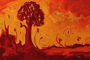 An Autumn Day by Rabi Khan