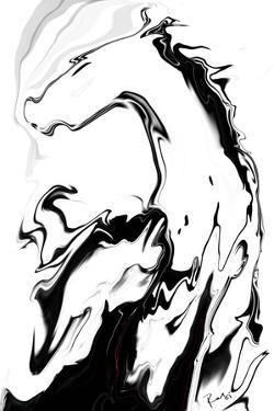 White Horse by Rabi Khan
