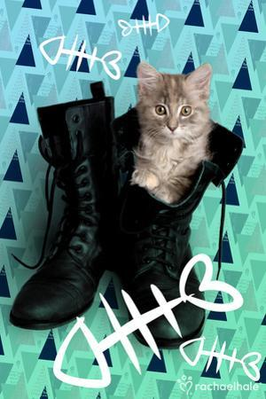 Fishbones And Boots (Green)