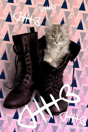 Fishbones And Boots (Pink)