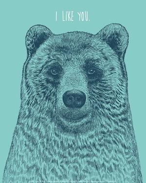 I Like You Bear by Rachel Caldwell
