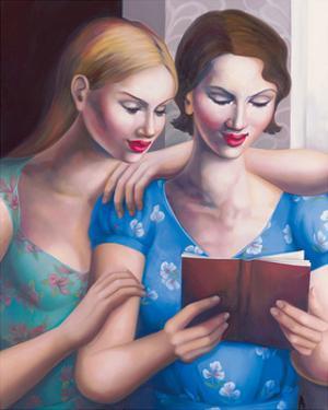Blue Girls by Rachel Deacon