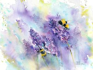 Bees And Lavender by Rachel McNaughton