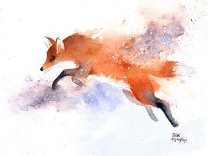 Jumping Fox by Rachel McNaughton