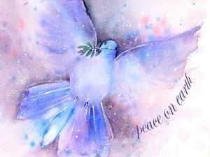 Peace On Earth Dove by Rachel McNaughton